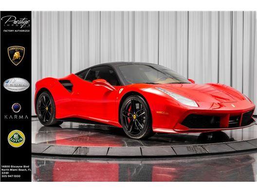 2017 Ferrari 488 GTB for sale in North Miami Beach, Florida 33181