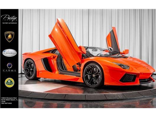 2014 Lamborghini Aventador for sale in North Miami Beach, Florida 33181
