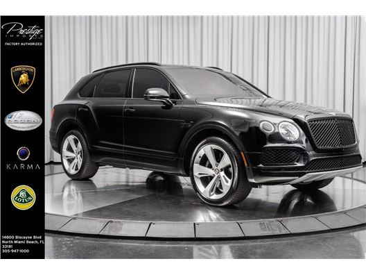 2020 Bentley Bentayga for sale in North Miami Beach, Florida 33181