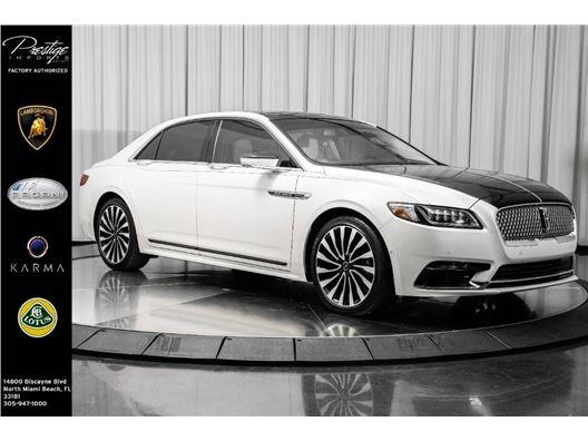 2019 Lincoln Continental for sale in North Miami Beach, Florida 33181