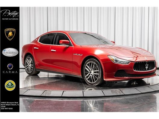 2016 Maserati Ghibli for sale in North Miami Beach, Florida 33181