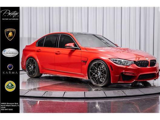 2018 BMW M3 for sale in North Miami Beach, Florida 33181