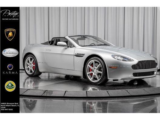 2013 Aston Martin V8 Vantage for sale in North Miami Beach, Florida 33181