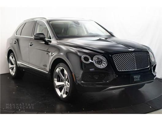 2018 Bentley Bentayga for sale in New York, New York 10019