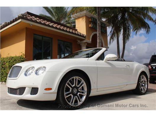 2011 Bentley Continental GT for sale in Deerfield Beach, Florida 33441