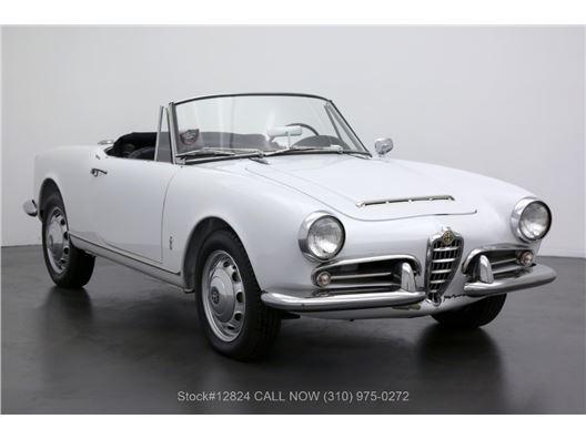 1963 Alfa Romeo Giulia 1600 Spider for sale in Los Angeles, California 90063