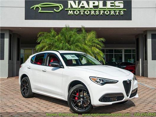 2020 Alfa Romeo Stelvio Sport for sale in Naples, Florida 34104