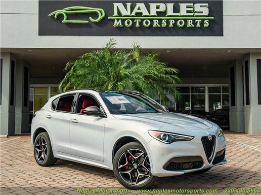 2020 Alfa Romeo Stelvio Ti Sport Carbon for sale in Naples, Florida 34104