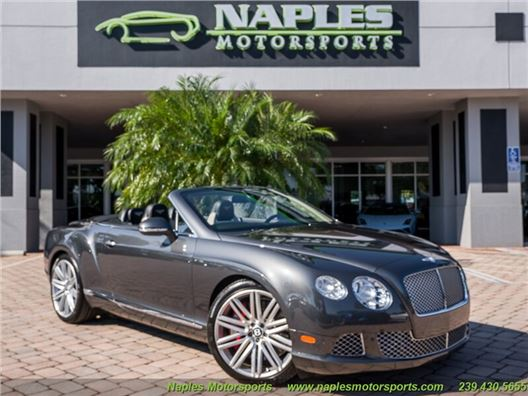 2014 Bentley Continental GT GTC Speed Convertible for sale in Naples, Florida 34104