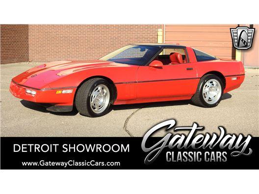 1990 Chevrolet Corvette for sale in Dearborn, Michigan 48120