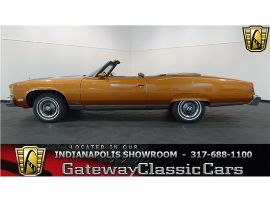 1975 Pontiac Grand Ville for sale in Indianapolis, Indiana 46268