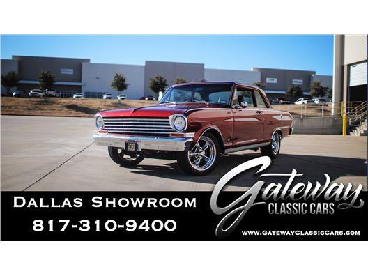 1963 Chevrolet Nova for sale in DFW Airport, Texas 76051