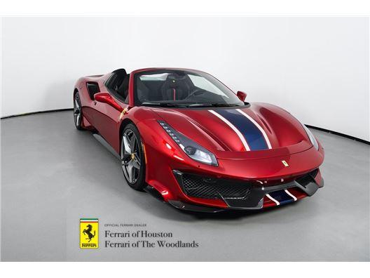 2020 Ferrari 488 Pista Spider for sale in Houston, Texas 77057