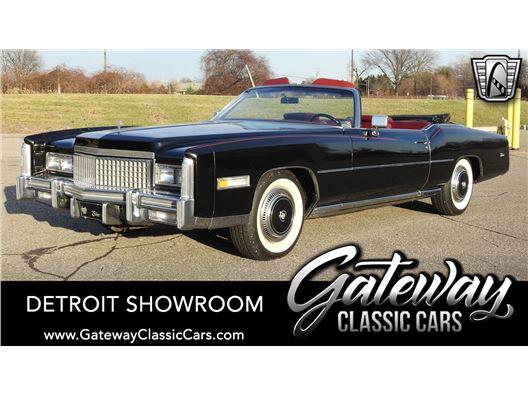 1975 Cadillac Eldorado for sale in Dearborn, Michigan 48120