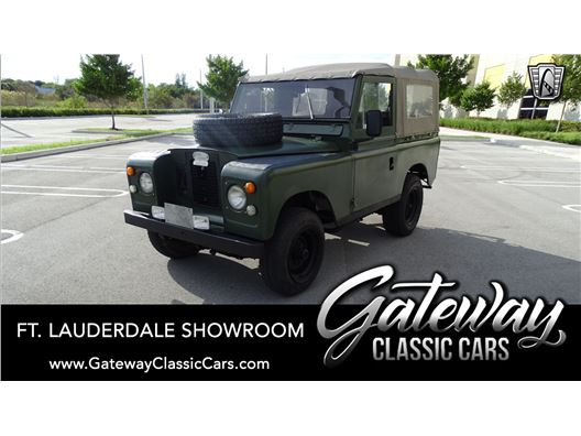 1972 Land Rover Santana for sale in Coral Springs, Florida 33065