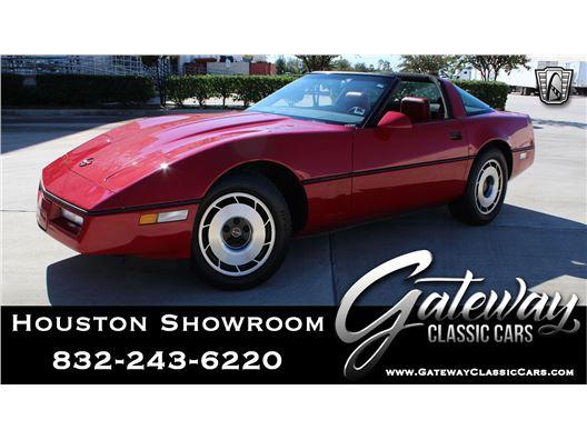 1984 Chevrolet Corvette for sale in Houston, Texas 77090