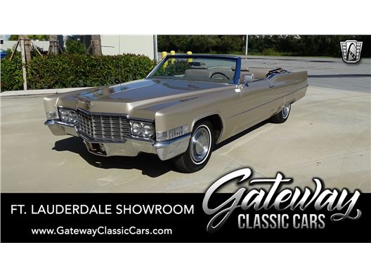 1969 Cadillac DeVille for sale in Coral Springs, Florida 33065