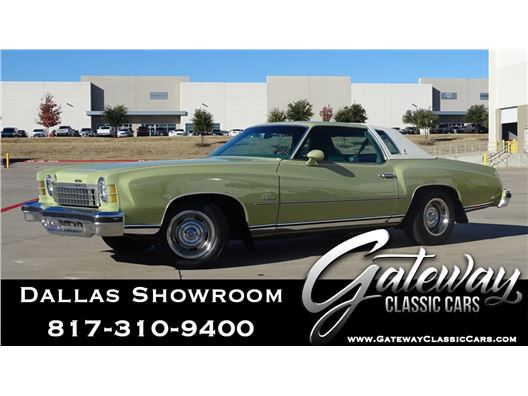 1974 Chevrolet Monte Carlo for sale in DFW Airport, Texas 76051