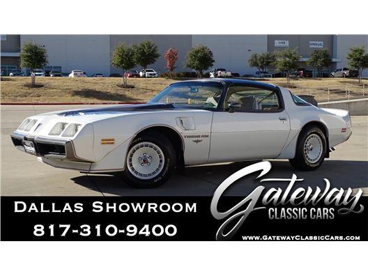 1980 Pontiac Firebird Trans-Am for sale in DFW Airport, Texas 76051