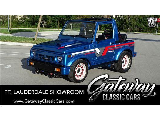 1987 Suzuki Samurai for sale in Coral Springs, Florida 33065