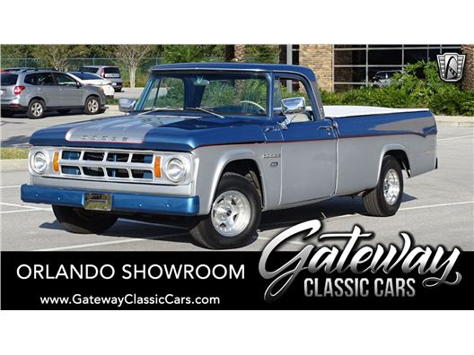1968 Dodge D100 for sale in Lake Mary, Florida 32746