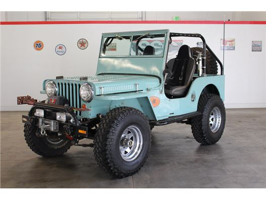 1948 Willys CJ2A for sale in Fairfield, California 94534