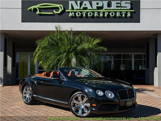 2014 Bentley Continental GT C V8 for sale in Naples, Florida 34104