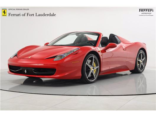 2014 Ferrari 458 Spider for sale in Fort Lauderdale, Florida 33308