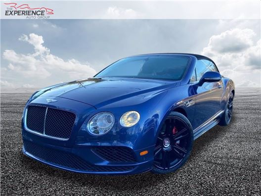 2017 Bentley Continental for sale in Fort Lauderdale, Florida 33308