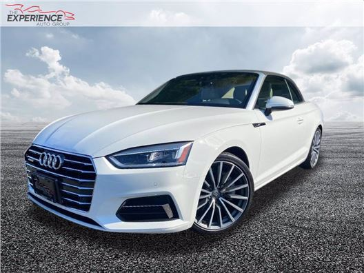 2018 Audi A5 Cabriolet for sale in Fort Lauderdale, Florida 33308