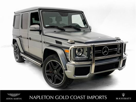 2017 Mercedes-Benz AMG G 63 for sale in Downers Grove, Illinois 60515