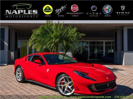 2018 Ferrari 812 Superfast for sale in Naples, Florida 34104