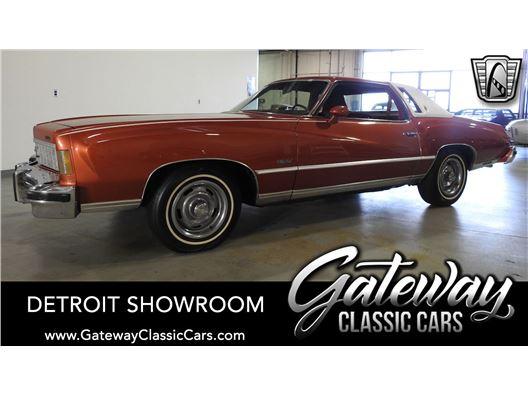 1975 Chevrolet Monte Carlo for sale in Dearborn, Michigan 48120