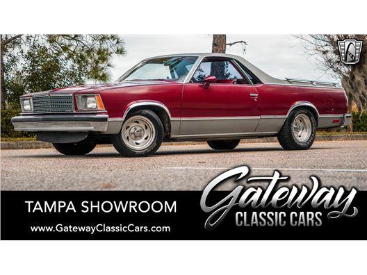 1979 Chevrolet El Camino for sale in Ruskin, Florida 33570