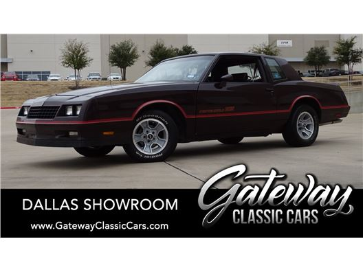 1985 Chevrolet Monte Carlo for sale in DFW Airport, Texas 76051
