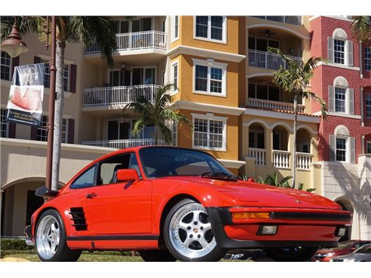 1987 Porsche 911 M505 Factory Slant Nose Turbo for sale in Naples, Florida 34104