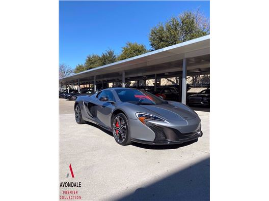 2016 McLaren 650S Spider for sale in Dallas, Texas 75209