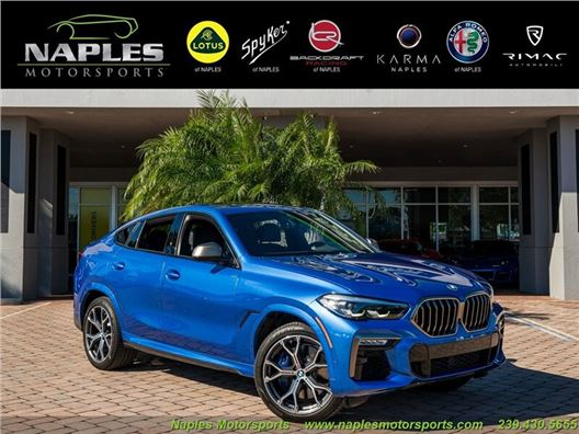 2020 BMW X6 M50i for sale in Naples, Florida 34104