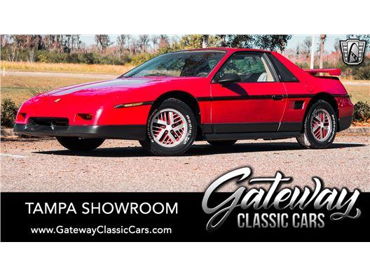 1986 Pontiac Fiero for sale in Ruskin, Florida 33570