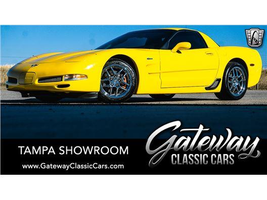 2003 Chevrolet Corvette for sale in Ruskin, Florida 33570