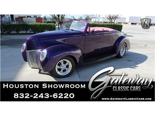 1939 Ford Cabriolet for sale in Houston, Texas 77090