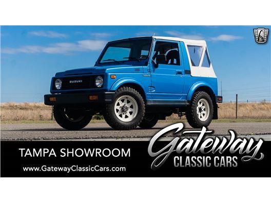 1986 Suzuki Samurai for sale in Ruskin, Florida 33570