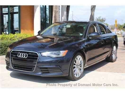 2014 Audi A6 for sale in Deerfield Beach, Florida 33441