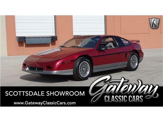 1987 Pontiac Fiero for sale in Phoenix, Arizona 85027