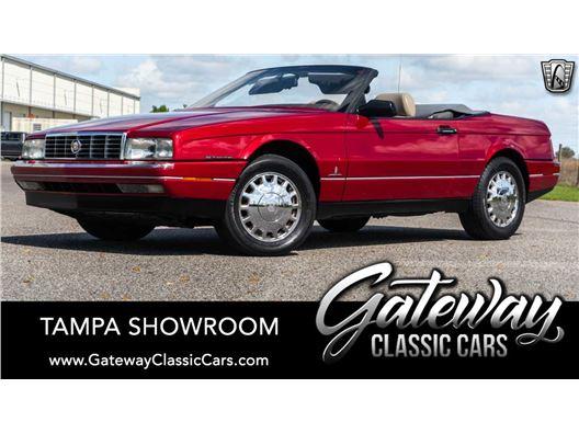 1993 Cadillac Allante for sale in Ruskin, Florida 33570