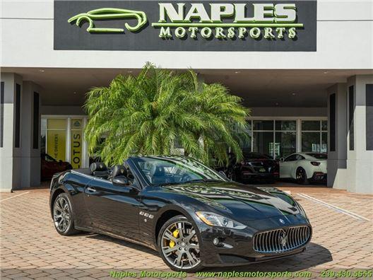 2016 Maserati Gran Turismo Convertible for sale in Naples, Florida 34104