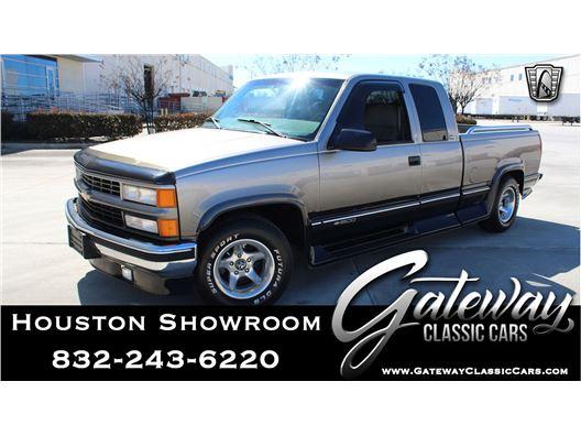 1998 Chevrolet Silverado for sale in Houston, Texas 77090