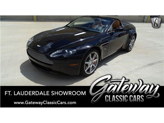 2008 Aston Martin Vantage for sale in Coral Springs, Florida 33065