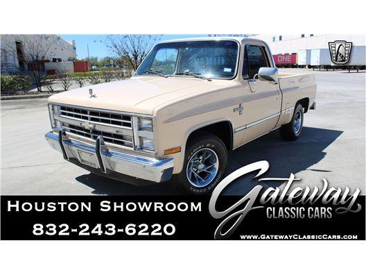 1987 Chevrolet R10 for sale in Houston, Texas 77090