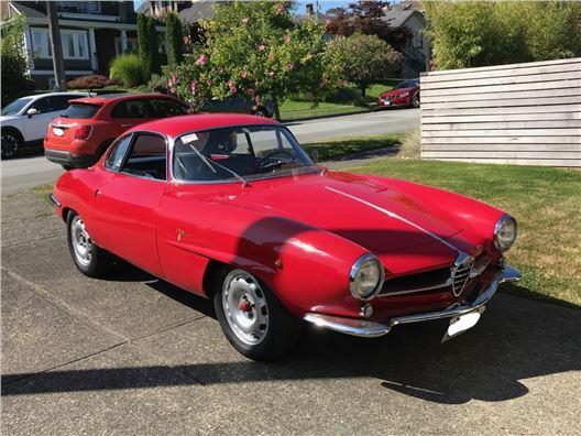 1962 Alfa Romeo Sprint Speciale for sale in Los Angeles, California 90063